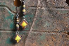 Handmade Artisan Pottery Focal Beaded by Sparrowtaledesign on Etsy