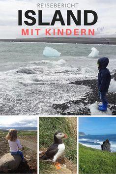 Keine Frage Island mit Kindern ist gerade voll im Trend. Immer mehr Familien entscheiden sich für eine Island Reise. Und das zurecht! Denn die Insel hoch im Norden hat gerade für den Familienurlaub eine Menge zu bieten. Überzeuge dich selber! In diesem Island Reisebericht, in dem du eine Menge Tipps zur Reiseroute, Unterkünfte & Co. findest. #islandmitkindern #islandreise #islandrundreise #islandreisebericht Rund Um Den Globus, Iceland Island, Travel With Kids, Travel Around The World, Iceland Travel, Travel Inspiration, Travel Ideas, Adventure Travel, Themen