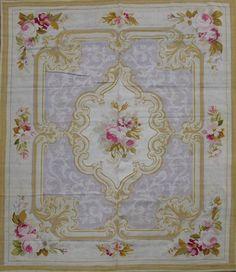Aubusson  rug - Napoléon III -  http://heleneflont.blogspot.fr/