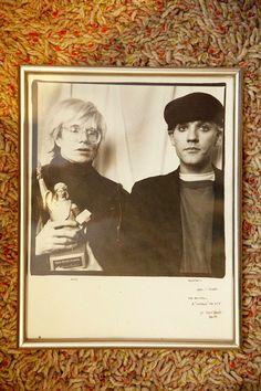 Andy Warhol & Stipe