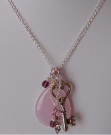 How to Make a Charm Cluster Necklace   AllFreeJewelryMaking.com