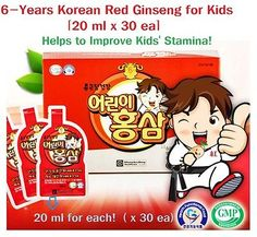6 Year Korean Red Ginseng Extract for Kids, 20 ml X Composition: 20 ml x 30 ea. Made In Korea. Korean Red Ginseng Extract, Healthy Foods To Eat, Healthy Recipes, 20 Ml, Kids Health, 6 Years, Healthy Living, Children, How To Make
