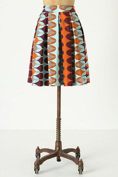 Paused Movements Skirt #anthropologie