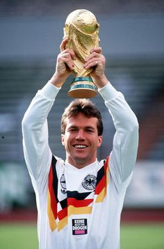 Lothar Herbert Matthäus. germany soccer player. he's the first to receive FIFA world best player award (now it's called ballon d'or), and the most capped player in Germany national team