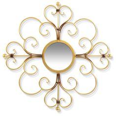 Gold St. James Mirror