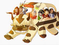 Avatar The Last Airbender Funny, Avatar Airbender, Avatar Aang, Suki And Sokka, Dorm Posters, Avatar Cartoon, Team Avatar, Zuko, Legend Of Korra