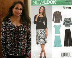 Faye's Sewing Adventure Louella Blomqvist - New Look 6735 New Look, Challenge, Adventure, Sewing, Blouse, Tops, Women, Fashion, Blouse Band