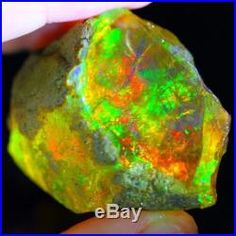 213ct HUGE MUSEUM GRADE RED Natural Ethiopian Welo Rough Specimen Opal SK2113