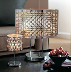 partylite enchanted silver votive and mini votive lamp shop online. Black Bedroom Furniture Sets. Home Design Ideas