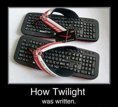 How Twilight was written