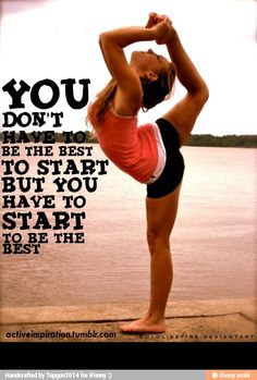 Welcome to The Paleo Network! Cheer hard - You don't have to be the best to start, but you have to start to be the best. moved from main Cheerleading board Cheerleading Quotes, Cheer Quotes, Sport Quotes, Cheer Sayings, Cheerleading Cheers, Team Quotes, Cheer Stunts, Inspirational Gymnastics Quotes, Motivational Sayings