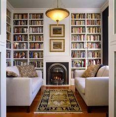 reading room decor inspiration to make you cozy 00015 Living Room Designs, Living Room Decor, Living Spaces, Living Room No Tv, Reading Room Decor, Home Library Design, Library In Home, Cozy Library, Library Ideas