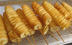 Cómo hacer patatas en espiral | Gastronomía & Cía