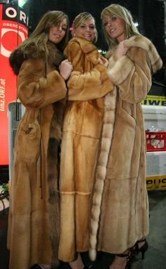 Long Fur Coats, These will surely keep your legs and body warm at the Utah Park CIty Film festival in wintertime!