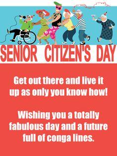 20 Senior Citizens Day Cards Ideas Senior Citizen Seniors Cards