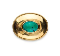 This beautiful turquoise brooch is one of two Kurt Jobst pieces that will be offered in the Jewellery session of the Fine Art & Collectables Auction, 8 & 9 October. Jobst is an internationally celebrated goldsmith, silversmith and metal-worker, who died in May 1971 after living and working for 35 years in South Africa. The brooch is estimated at R15 000- R20 000.
