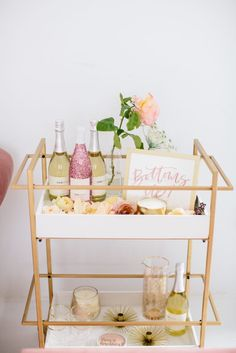 Want to add a bar cart to your home but don't know where to start? You've come to the right place! Bar carts are a huge trend that we are certainly on board with, but it can be hard to find out exactly what to add to your bar cart or how to even start…