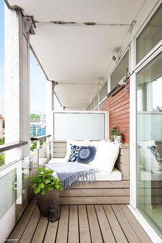 banquette balcon idee deco