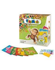 Bastel-Set MOSAIC LITTLE ZOO in bunt von PlayMais ✔ Kurze Lieferzeit ✔ Gleich bei tausendkind reinschauen!
