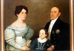 Visconde e Viscondessa do Miriti (Manuel Lopes Pereira Baia e Maria Carolina do Espirito Santo)