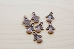 26 Small Angels Charms by TwinBeadsLLC on Etsy