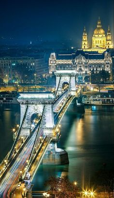 Budapest, Hungary, cities at night Places To Travel, Places To See, Wonderful Places, Beautiful Places, Capital Of Hungary, Budapest Travel, Night Photos, Night City, Wonders Of The World