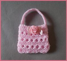 Marianna's Gift Purse to knit….. FREE pattern
