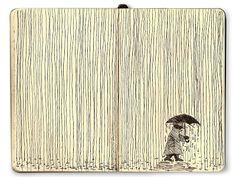 Somethink Fun: Moleskine Lines Series: Rain