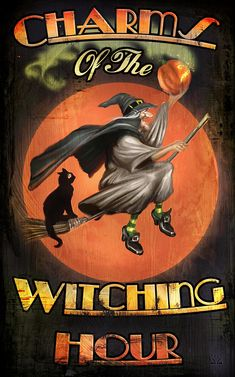 witch.quenalbertini: Charms of The Witching Hour by Joel Payne