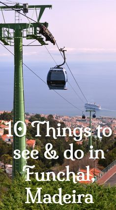10 things to see and do in Funchal, Madeira. From cable cars to exotic gardens and incredible collections, there's bound to be something of interest in this list of sights and activities in Funchal, Madeira. Click to find out which ones to add to your itinerary.
