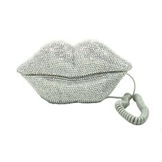 Amazon.com : E'Plaza New Novelty Marilyn Monroe Sliver Rhinestones Crystal Hot Sexy Lips Mouth Kiss Telephone Fixed Land Line Desk Wired Corded Home Office Phone Creative Funny Decoration Gifts : Electronics
