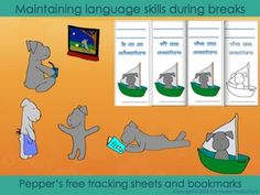 Free!  In order to maintain language skills learned throughout the year and to allow students to pursue or develop their own interests, Pepper encourages students to read a book and watch a show in French that they will enjoy and to practice useful and polite French phrases relevant to them on their families during their vacation.
