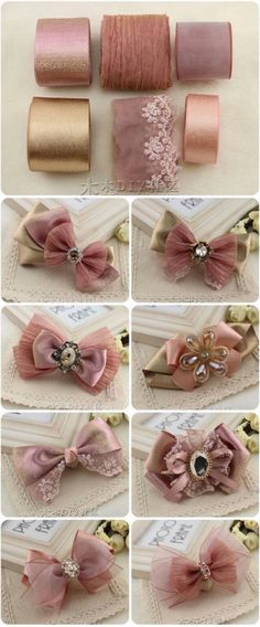 23 Best Ideas For Hair Accessories Diy Fabric - Beauty / Hair Ideas - . 23 Best Ideas For Hair Accessories Diy Fabric – Beauty / Hair Ideas – Diy Ribbon, Ribbon Work, Ribbon Crafts, Diy Headband, Headbands, Diy Flowers, Fabric Flowers, Flower Diy, Ribbon Flower