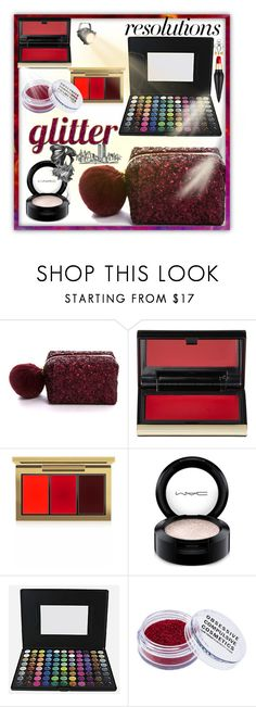 """""""Let's sparkle"""" by grietje-thijssen ❤ liked on Polyvore featuring beauty, Pinch Provisions, Kevyn Aucoin, MAC Cosmetics, Beauty Treats, Obsessive Compulsive Cosmetics, Christian Louboutin, contestentry and polyPresents"""