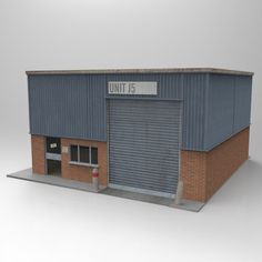 The Factory – free 3D model ready for CG projects. Available formats: OBJ (.obj)