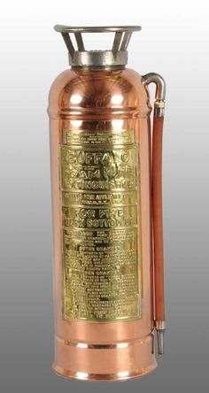 I Have One Of These Copper Fire Extinguishers Wish Could Make It