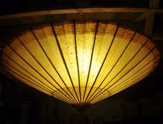 hanging umbrella light how to