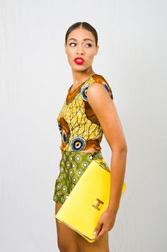 A.Au Shorts  ~African fashion, Ankara, kitenge, African women dresses, African prints, African men's fashion, Nigerian style, Ghanaian fashion ~DKK