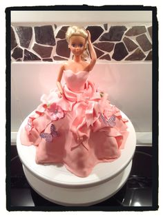 First Barbie Cake