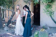When your girls always have your back... #goals #bridal #party #bridesmaids #bride #elegant #navy #white #formal #gown #wedding #dress #mermaid #silouette #spanish #villa #mediterannean #rustic #venue #Arizona #RoyalPalmsResort #Scottsdale #ParadiseValley #ALWE #destination #weddingplanner #andrealeslieweddings // Planning & Coordinating - Andrea Leslie Weddings & Events // Photography - I Do Photography // Venue - Royal Palms Resort, AZ //