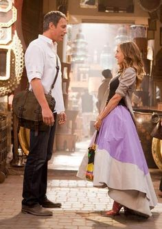 love love love, the dress and john corbett :)