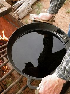 Good cast iron, if taken care of properly, will outlive us all. Kent Rollins, chuck wagon cook and author of A Taste of Cowboy, tells us why cast iron is an essential tool in any kitchen and how to take care of it. Cast Iron Skillet Cooking, Iron Skillet Recipes, Cast Iron Recipes, Skillet Meals, Lodge Skillet, Skillet Food, Dutch Oven Cooking, Fire Cooking, Outdoor Cooking