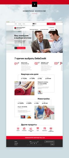 DeltaCredit Bank Website on Web Design Served