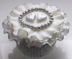 Silver Wedding Cupcake Collection