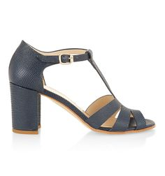 Blue Carmel Sandal   High Heel Shoes   Shoes and Boots   Hobbs