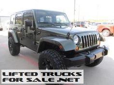2007 Jeep Wrangler Unlimited Sahara Lifted Jeep