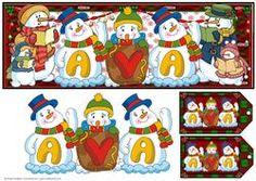 Snowmen Names Large Dl - Ava