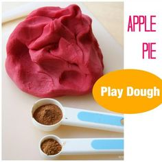 Smooth and Silky Apple Pie Play Dough Recipe