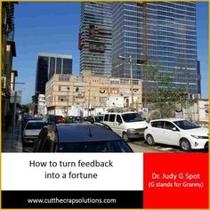 Feedback without follow up is like letting a fortune slip through your fingers.  I am big on feedback. It's one of the greatest gifts you can receive from people, who care enough to share their thoughts, feelings and opinions re: your work.   READ MORE: http://judyyaron2.wix.com/grannyalwayssays#!Feedback-without-follow-up-is-like-letting-a-fortune-slip-through-your-fingers/c1l60/5661bcdd0cf212bd6be63044   HUGS <3  #Israel  #ultrablog  #thatswhatgrannyalwayssays #feedback