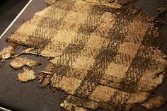 Fragment tkaniny z Oseberg